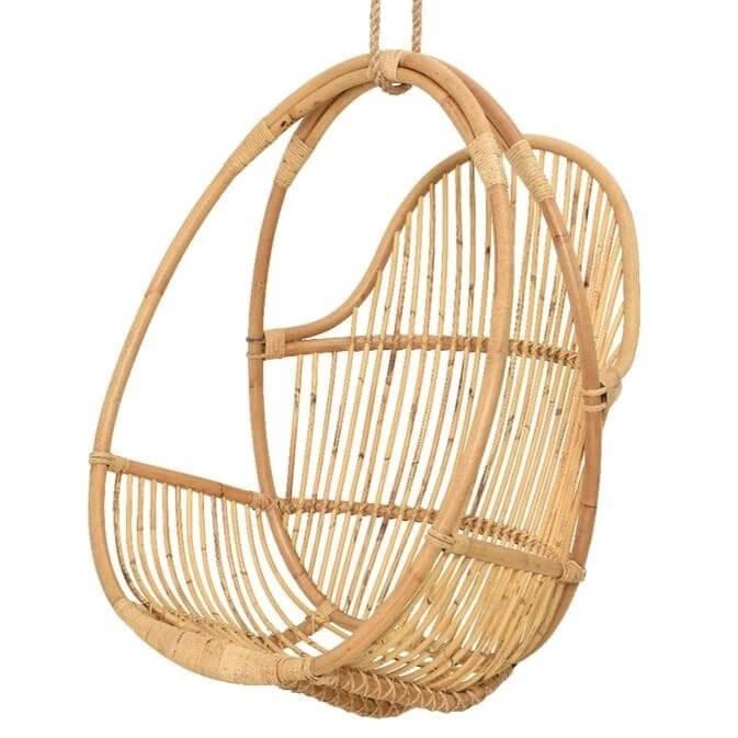 Hanging manila garden chair